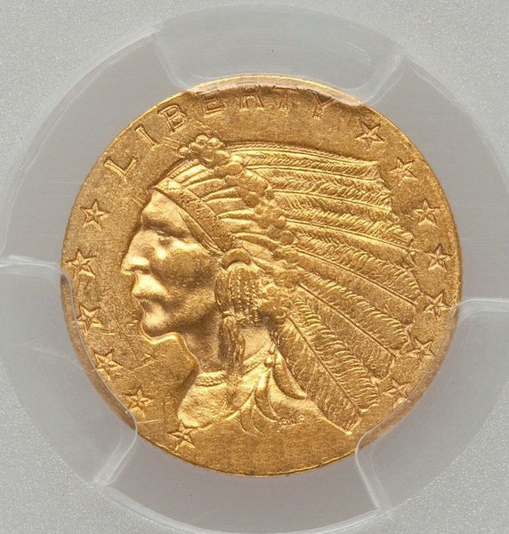$2.50 Indian Gold Quarter Eagle PCGS MS61 (Year Varies)