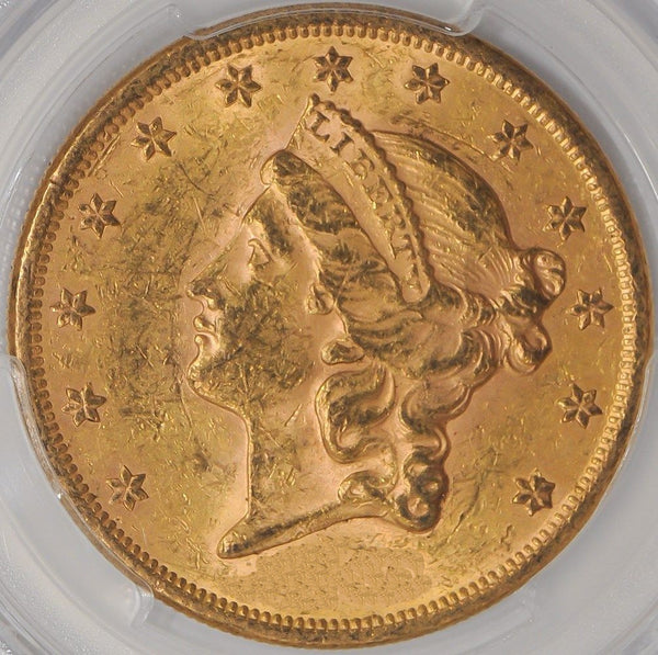 $20 Liberty Gold Double Eagle PCGS MS61 (Year Varies)