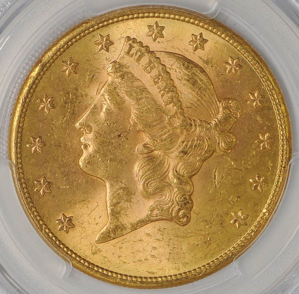 $20 Liberty Gold Double Eagle PCGS MS62 (Year Varies)