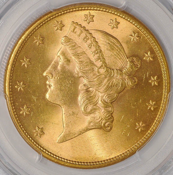 $20 Liberty Gold Double Eagle PCGS MS63 (Year Varies)