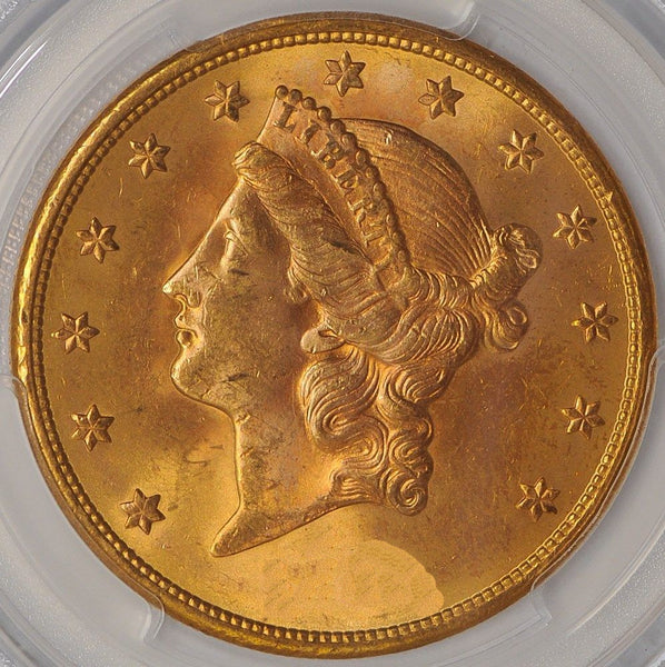 $20 Liberty Gold Double Eagle PCGS MS64 (Year Varies)