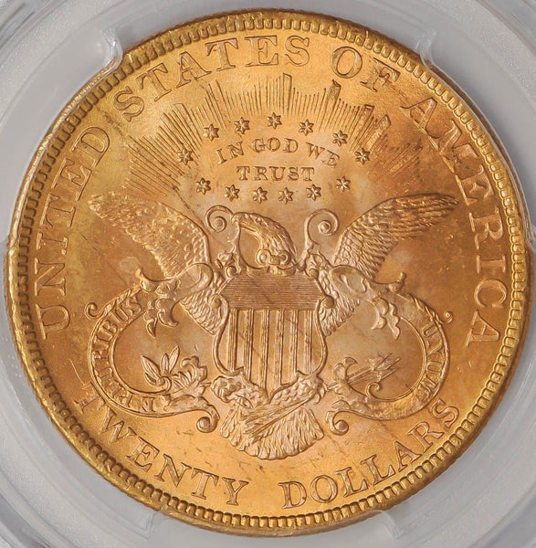 $20 Liberty Gold Double Eagle PCGS MS65 (Year Varies)