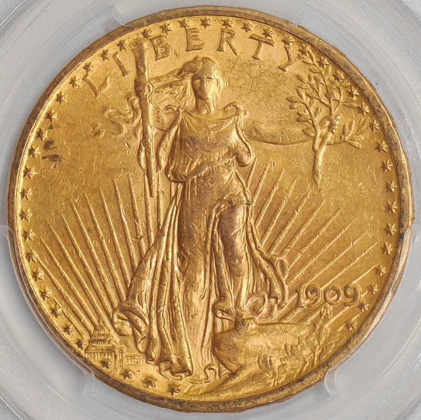 $20 Saint Gaudens Gold Double Eagle PCGS MS61 (Year Varies)
