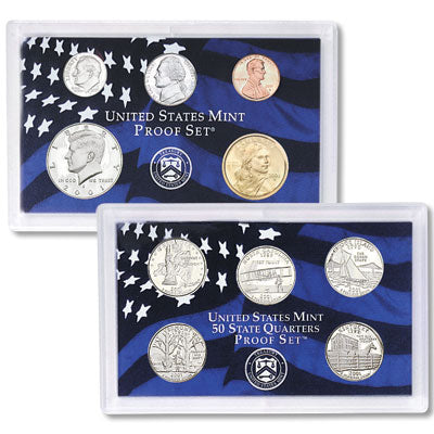 2001 United States Mint Proof Set