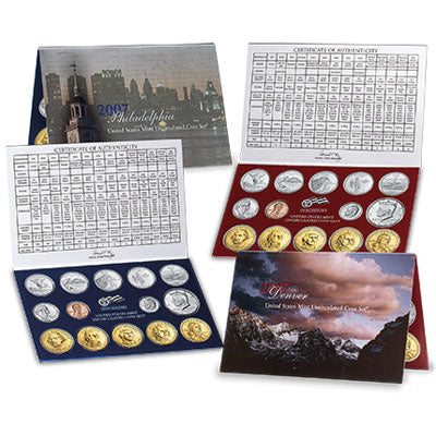2007 U.S. Mint Uncirculated Coin Set