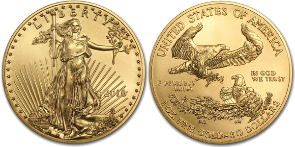 1 oz American Gold Eagle (Year Varies)
