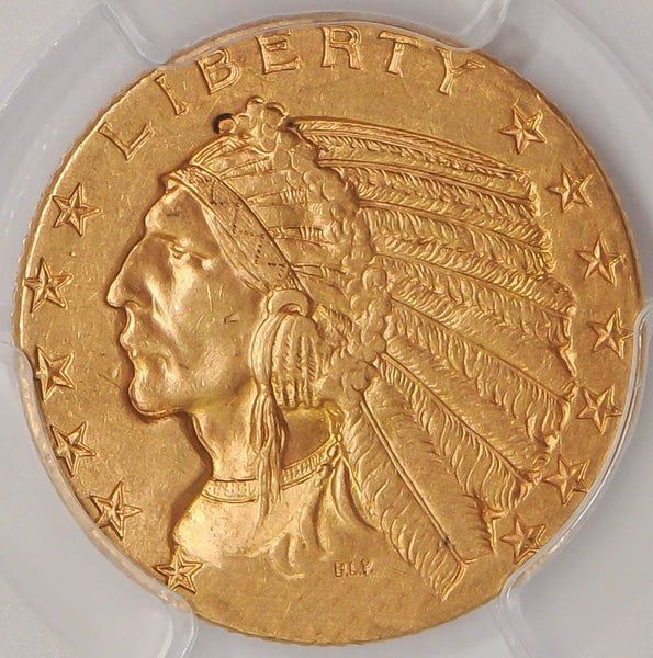 $5 Indian Gold Half Eagle PCGS MS61 (Year Varies)