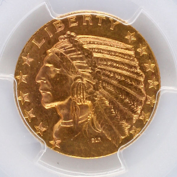 $5 Indian Gold Half Eagle PCGS MS63 (Year Varies)