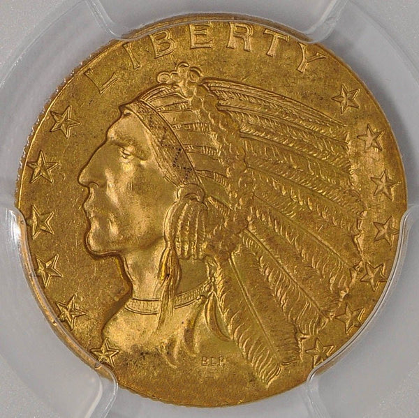 $5 Indian Gold Half Eagle PCGS MS64 (Year Varies)