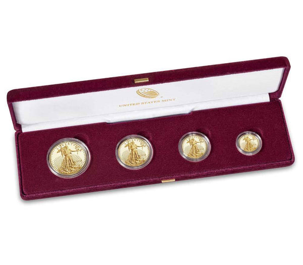 American Eagle 2018 Gold Proof Four-Coin Set