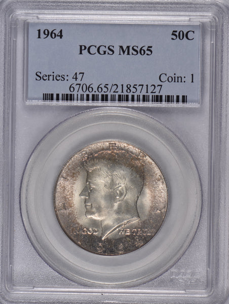 1964 Kennedy Half Dollar PCGS MS 65 #184963