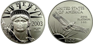 1oz American Platinum Eagle