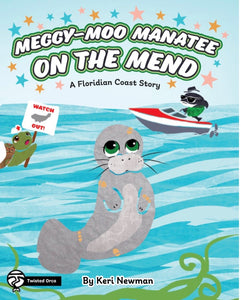 Join Save The Manatees Club's Reading of Meggy-Moo Manatee