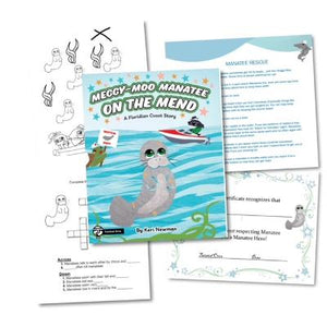 Meggy-Moo Manatee Educational Kit Download