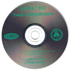 Total Concentration SCWL Subliminal CD Number 12
