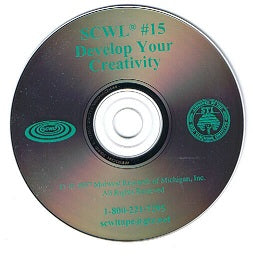 Develop Your Creativity SCWL Subliminal Programs CD Number 15