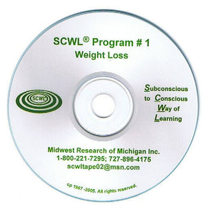 Weight Loss Subliminal CD Number 1  **** Special ****