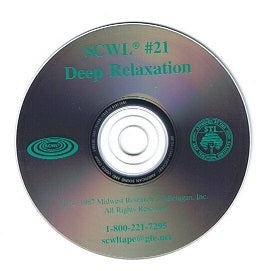 Deep Relaxation SCWL Subliminal CD Number 21