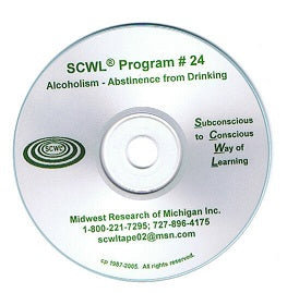 Alcoholism - Abstinence from Drinking SCWL Subliminal CD Number 24