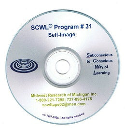 Elevate Your Self Image SCWL Subliminal Programs CD Number 31