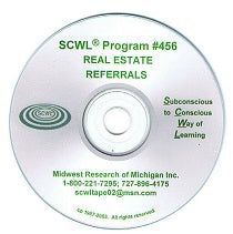 Referrals in Real Estate CD Number 456