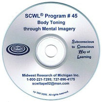 Body Toning Through Mental Imagery CD (For Any Sport) Number 45