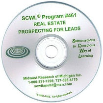 Prospecting for Leads in Real Estate CD Number 461