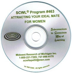 Attracting the Ideal Mate (for Women) CD Number 463