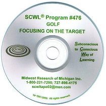 Golf / Focusing on the Target CD Number 476
