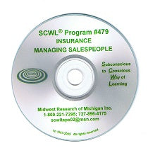Managing Insurance Sales People CD Number 479