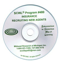 Recruiting New Agents (Insurance) CD Number 480