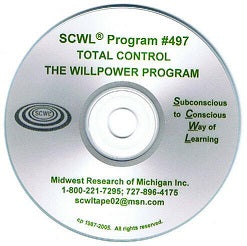 Total Control : The Will Power Program CD Number 497