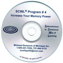 Increase Your Memory Power SCWL CD Number 4