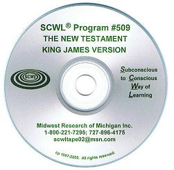 The Bible New Testament CD Number 509