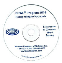 Responding To Hypnosis CD Number 514