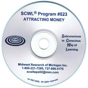 Attracting Money CD Number 523  **** Special ****