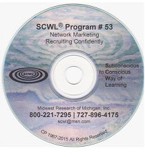 Multi-Level Marketing Recruiting CD Number 53