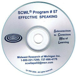 Effective Speaking CD Number 57