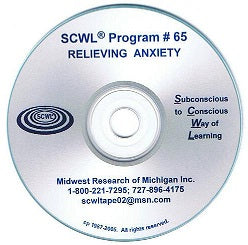 Relieving Anxiety CD Number 65