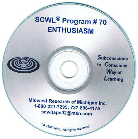Enthusiasm CD Number 70