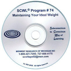 Maintaining Your Ideal Weight CD Number 74