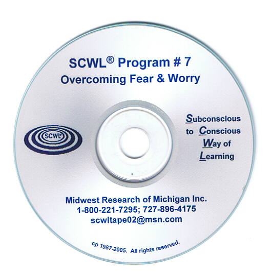 Overcoming Fear and Worry CD Number 7