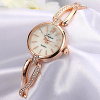 Top selling beautiful Brand Luxury Watches Women Fashion Bracelet Quartz Wrist Crystal Watches Ladies Casual Dress Sport Watch - Discount Jewelry Store