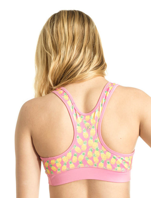 Pineapple Punch Sports Bra