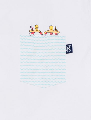 Mermaid Hidden Pocket Tee