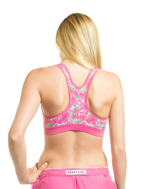 Let It Bloom Sports Bra