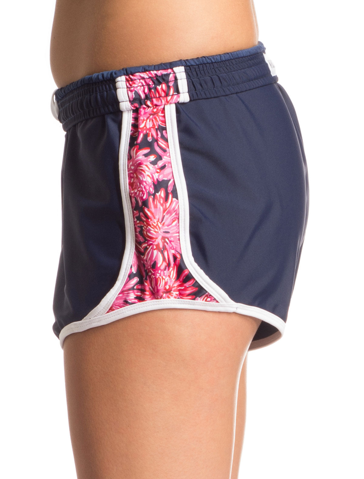 Red, White and Bloom Shorts