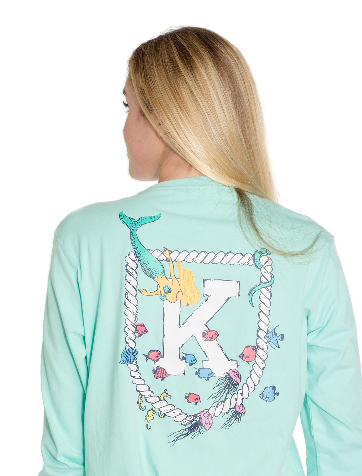 Mermaid Hidden Pocket LS Tee