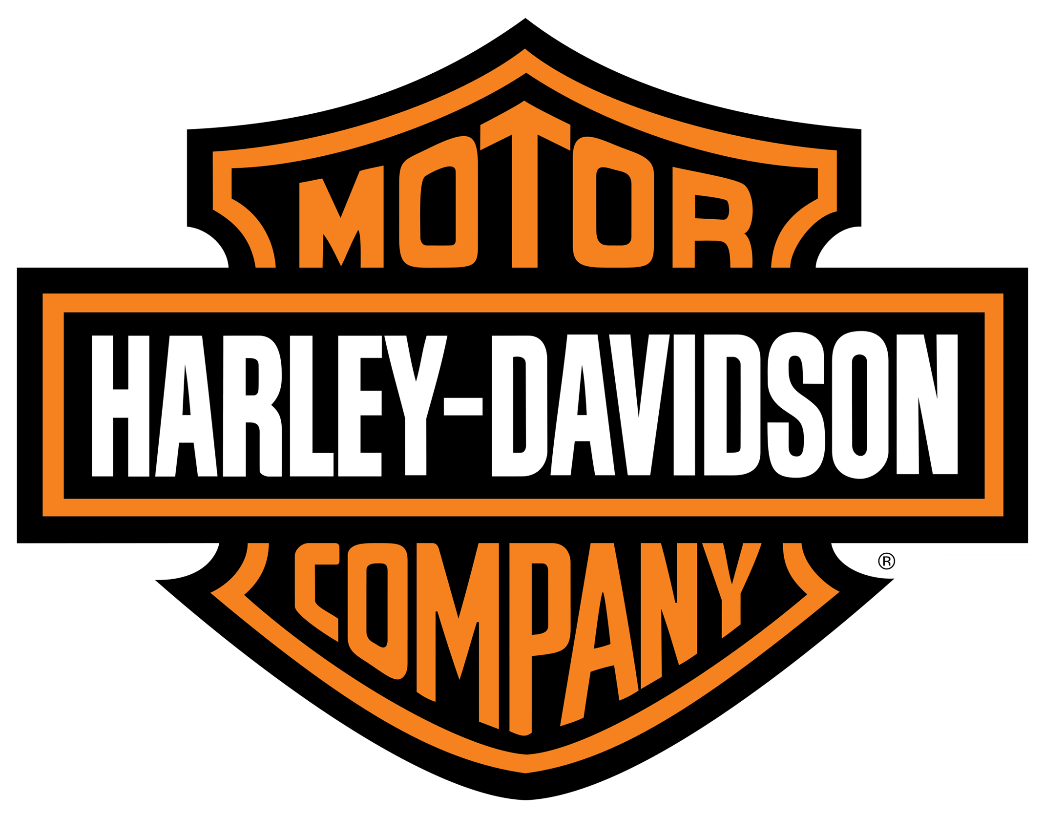 Halo Headlights for Harley-Davidson Road Glide