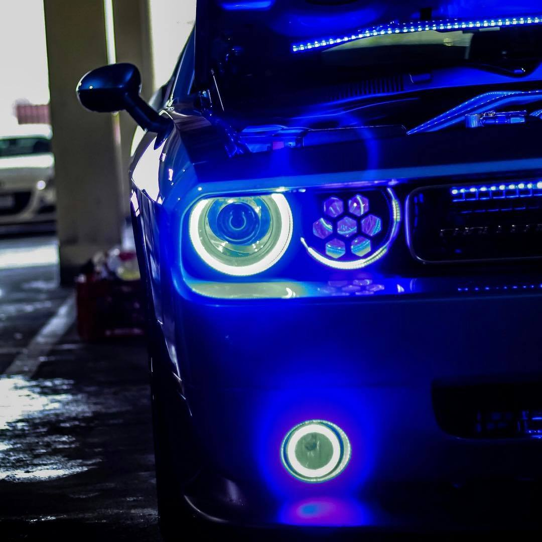 LED Chevrolet Camaro Halo Headlights at NFC Performance